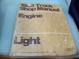 1976 Official Ford TRUCK SHOP MANUAL ENGINE - $7.91