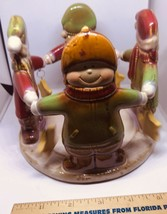 Yankee Candle Ronnie Walter Christmas Childrens Circle Candle Jar Holder... - $18.04