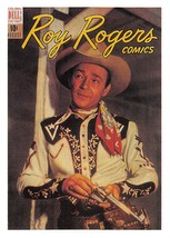 1992 Arrowpatch Roy Rogers Comics Trading Card #8 > Trigger > Happy Trails - $0.99