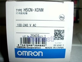 1 Pc New Omron Time Relay H5CN-XDNM In Box - $79.61