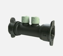 "Orbit 1/2"" Drip-lock 2 Port In-line Tubing Manifold 67046 New - $9.65"