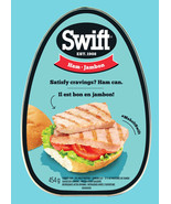 6 Pack Swift Premium Cooked Canned Ham 454g Each -From Canada FRESH & DE... - $52.52