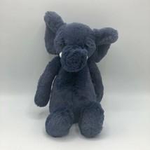 "Jellycat London Bashful Blue Indigo Elephant 13"" Stuffed Animal  - $19.79"