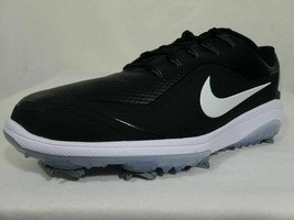 Nike React Vapor 2 Golf Shoes 9.5-10.5 Wide Men's Black White Leather BV... - $69.99