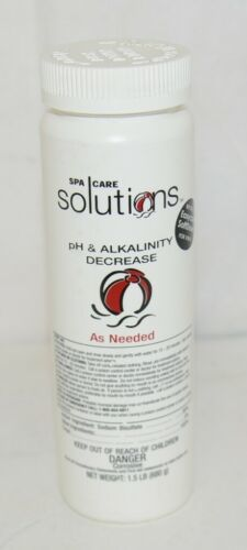 Spa Care Solutions PH Alkalinity Decrease One And Half Pound Sodium Bisulfate
