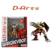 Bandai D-Arts Wargreymon Re-Issue Digimon Adventure Figuarts Action Figures - $98.01