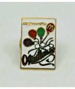 McDonalds Open House Baloons Color Employee Crew Collectible Pinback Pin... - $15.14