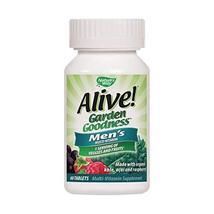 Nature's Way Alive! Garden Goodness Men's  Multivitamin, Veggie & Fruit Blend 14 image 5