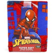 "Marvel Spider-Man Super Soft Travel Blanket 40x50"" - $14.80"