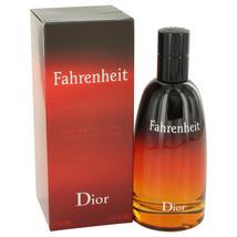Christian Dior Fahrenheit 3.4 Oz Eau De Toilette Cologne Spray image 3