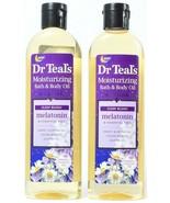 1 Count Dr. Teals Moisturizing Bath & Body Oil Melatonin Sleep Blend 8.8... - $29.99