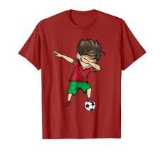 Dad Shirts - Dabbing Soccer Boy Morocco Jersey Shirt - Moroccan Football Men - $19.95+
