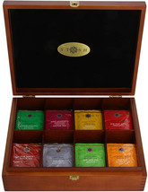 Stash Tea 8 Flavor Variety Pack Gift Set 80 Count Tea Bags in Foil with ... - $75.73