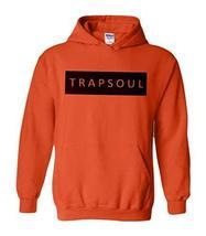 CC Bryson Tiller Trapsoul Hoodie Orange (Black Print) - $29.99