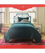 Opalhouse Teal Velvet Tufted Stitch Quilt Twin / Twin XL New - $69.25