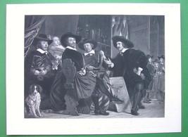 ARCHERY Contest at Antwerp Awarding Prizes - Victorian Era Antique Print - $21.60