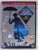 Disney's Mary Poppins 40th Anniversary Edition DVD Julie Andrews Dick Va... - $20.00