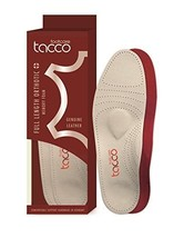 Tacco Plus 794 Full Length Orthotic Luxury Leather Foot Support, Men. Size 14 - $27.81