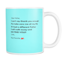 Fathers day mugs - dad birthday gift -Daddy perfect gift coffee mug  - $14.99+