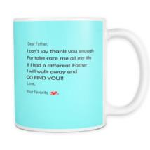 Fathers day mugs - dad birthday gift -Daddy perfect gift coffee mug  - £8.40 GBP+