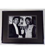 Donald Trump & Herschel Walker Framed 11x14 Photo Display New Jersey Gen... - $32.36