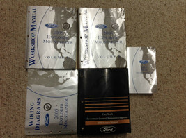 2005 Ford EXPLORER Mercury MOUNTAINEER Service Shop Repair Manual Set W ... - $188.05