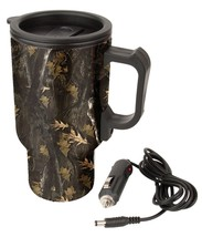 Outdoors by totes ~ Heated Auto Mug 16oz. Camouflage with 12V Car Adaptor - $14.80