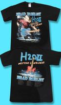 """BRAD PAISLEY - 2011 """"H20II WETTER & WILDER"""" CONCERT TOUR T-SHIRT / SZ. M - $9.87"""