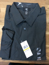 Calvin Klein Men's Black Dress Shirt M #1009348 NWT - $26.72