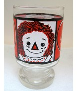 1972 Raggedy Ann and AndyI Love You Juice Glass Great Shape Bright Color... - $22.28