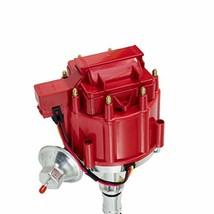 RANGE ROVER V8 HEI Distributor RED Cap 65K VOLT COIL 215 3.5L 1970-1974