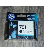 Genuine HP 701 (CC635A) Black Ink Cartridge New In Imperfect Box Dated 2... - $28.04