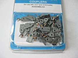 Micro-Trains Stock #00110005 Silver Passenger Car Couplers for 1017 & 1018 Truck image 1