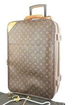 Authentic LOUIS VUITTON Pegase 55 Monogram Canvas Travel Rolling Suitcas... - $1,025.00