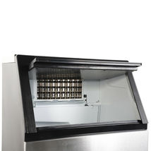 270W-500W 99Lbs 115V 60Hz Stainless Steel Commercial Ice Maker Black US Plug image 10