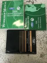 2008 Ford Crown Victoria Grand Marquis Service Shop Manual SET W EWD PCE... - $118.75