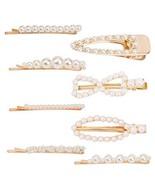 Pearl Bobby Pins, Pearl Hair Clip, Small Bobby Pins Bulk for Girls Women... - $8.18
