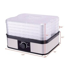 5 Layers Portable Fruit and Vegetable Dehydration Machine Snacks Meat Fo... - $74.05