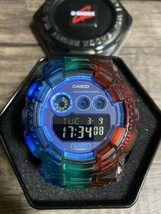 Used G-SHOCK GD-120N Battery New Rainbow Custom Casio - $254.97