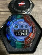 Used G-SHOCK GD-120N Battery New Rainbow Custom Casio - $232.44