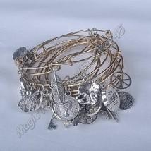 5pcs Plated gold silver bracelet wholesales Newest Women Fashion Metal Alloy Cha - $9.99