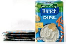 6 Packs Hidden Valley 1 Oz The Original Ranch Dips Mix BB 2/27/2021 - $18.99