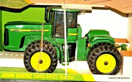 1996 John Deere 9400 4 WD Replica Toy Tractor Collector Edition  1/16 Scale Ertl image 2
