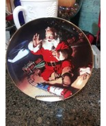 1995 Coca Cola Collectible Christmas Plates (Lot of 8) Franklin Mint - $64.30