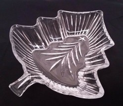 """Mikasa Candy Dish Clear Glass Holiday Evergreen Christmas Tree Bowl 7 1/2"""" - $15.83"""