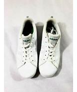 Addidas Kids Size 5 White Green Classic - $19.79