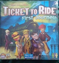 NEW Ticket to Ride First Journey Board Game Alan R Moon Days of Wonder - $36.32