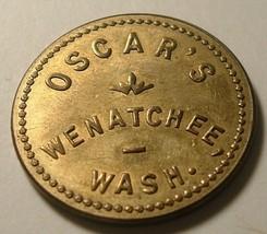Wenatchee, Washington Trade Token : Oscars , 25 cents - $10.00