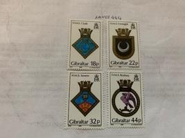 Gibraltar Naval arms 1988 mnh    stamps - $6.35