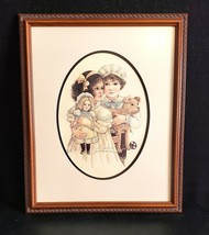"1985 Jan Hagara Signed/Numbered #766 Lithograph Print ""Billy & Brenna"" - $176.37"